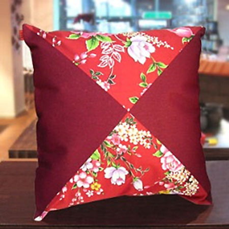 台灣花布抱枕 Taiwan soft breeze Multicolor cloth Pillow
