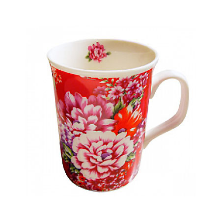 台灣花布馬克杯 Taiwan soft breeze Multicolor cloth mug cup