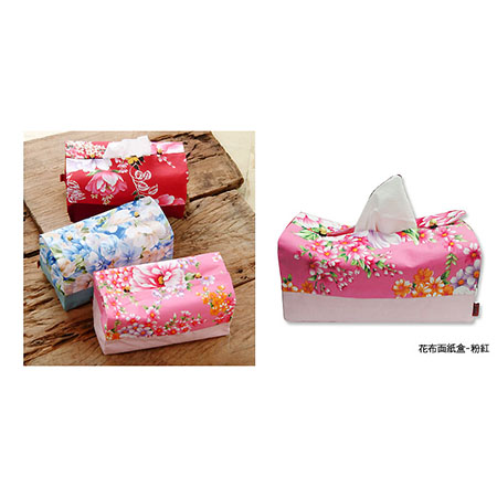 台灣花布面紙盒 Taiwan soft breeze Multicolor cloth Pillow toilet paper box